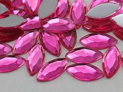 2pcs x Large TearDrop Glass Crystal Diamante Rhinestones Flatback Sew On Jewels