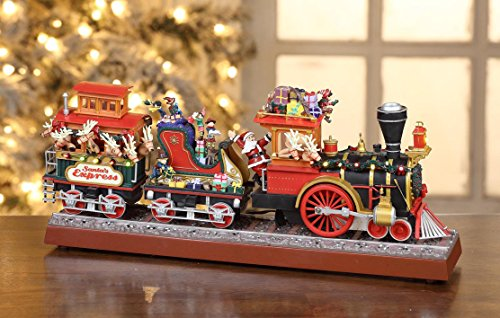 Mr. Christmas Animated Musical Santa's Express with Working Smokestack by Gold Label (Image #2)