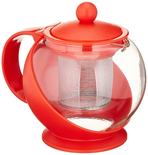 glass and plastic teapot - 1