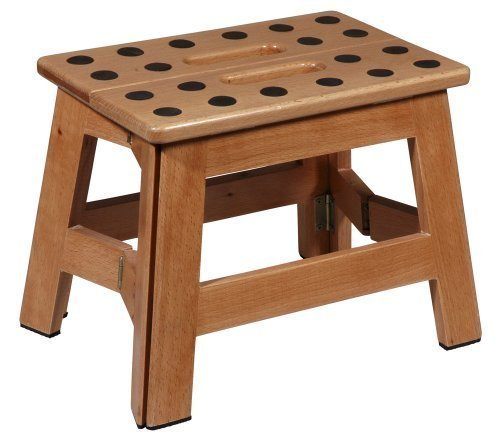 (Puhlmann James Foldable Wooden Stool)