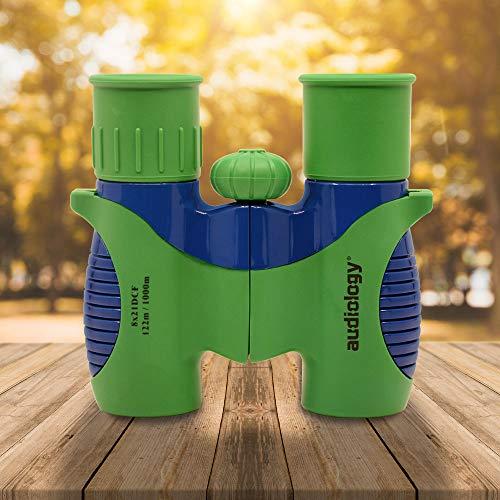 Audiology Binoculars for Kids, Kids Binoculars, Compact Binoculars, Toy Binoculars, High Resolution 8x21,Binoculars for Bird Watching, Hiking, Hunting, Outdoor Games, Camping Gear for Boys and Girls