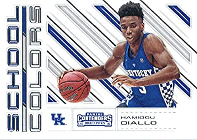 2018-19 Panini Contenders Draft Picks School Colors #26 Hamidou Diallo Kentucky Wildcats Basketball Card