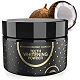 Charcoal Teeth Whitening Activated Charcoal Powder, Proven Safe for Enamel Natural Coconut Charcoal Powder 2.11 oz Whitening Teeth Easy by Fairywill