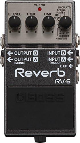 BOSS ボス - Reverb RV-6 + KORG AW-OTG-POLY + マークスオリジナルクロス セット