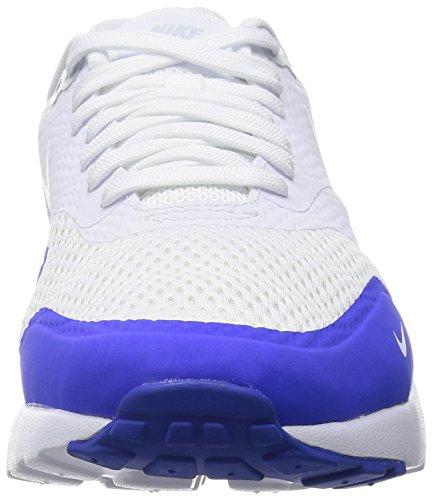 Nike Air Max 1 Ultra Essential, Zapatillas de Deporte para Hombre Blanco (White / White-Pr Platinum-Rcr Bl)
