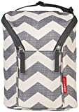 Skip Hop Grab-and-Go Insulated Double Bottle Bag, Chevron Image
