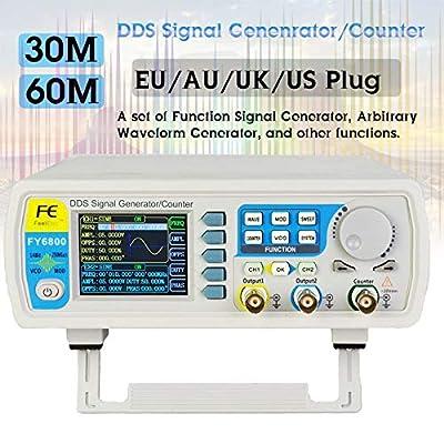 WG Dual-Channel Digital Signal Generator DDS Frequency Function Generator Arbitrary Waveform Generator 250MSa/s 14bits 60MHz