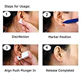Trrut Disposable Self Ear Piercing Gun Unit Tool