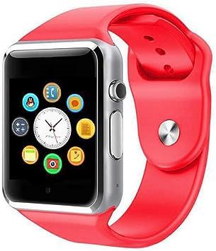 JingJingQi Reloj Inteligente Smart Watch A1 con Pasómetro Cámara ...