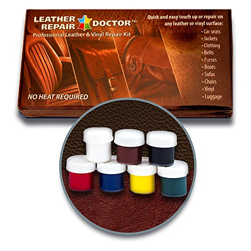 The ORIGINAL Leather Repair Doctor DIY Kit | Premixed ALL IN ONE  Professional Restoration Solution | Match ANY Color, No Heat Fast Drying |  Sofa, Couch ...