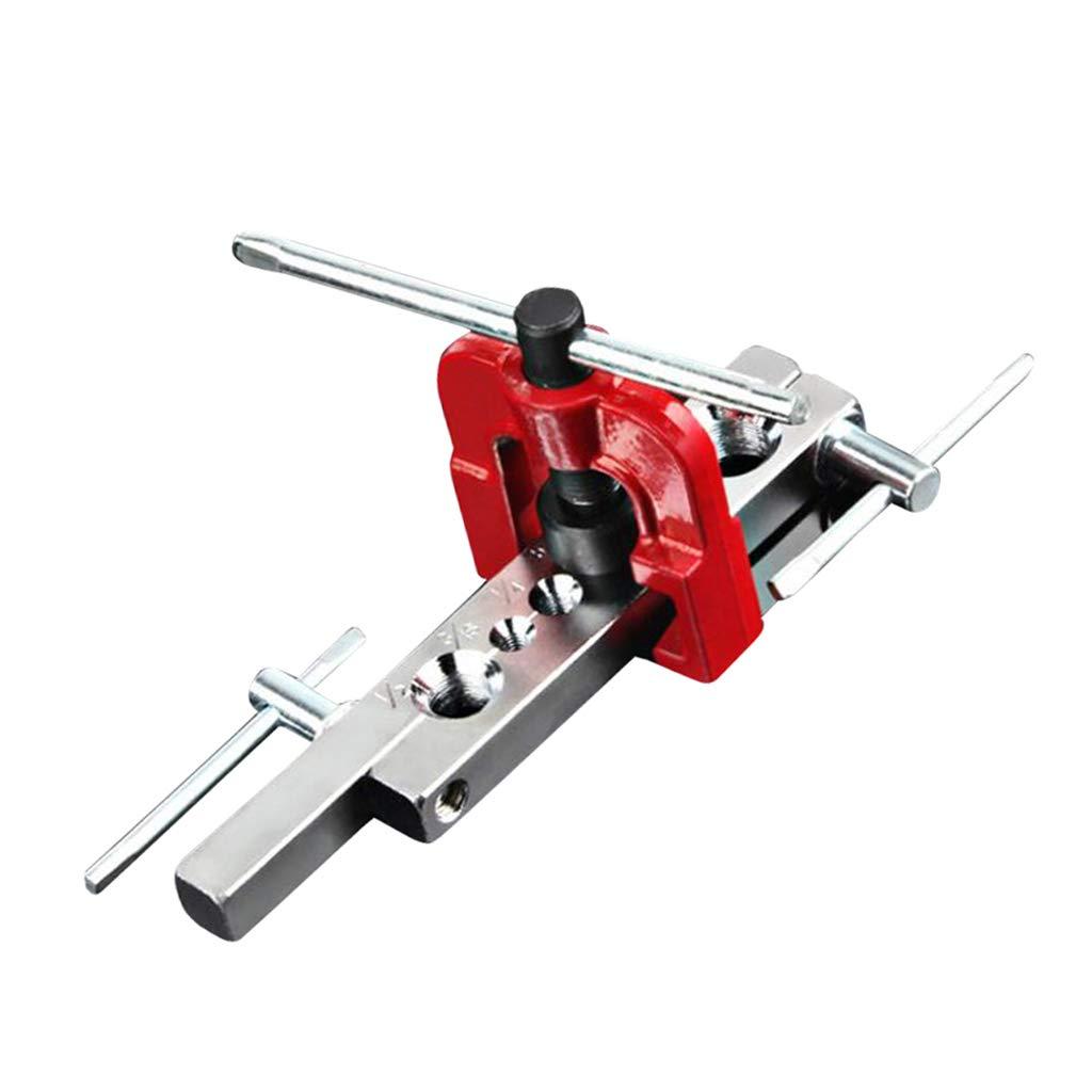 Eccentric Flaring Tool Set Water Gas Brake Line Tubing inch Eccentric Cone High Durability