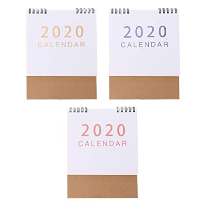 Chic - Calendario de escritorio 2020, agosto de 2019 ...
