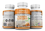 Organic Ultra Pure & Extra Strength Turmeric Curcumin Supplement (90 Vegetarian Capsules) 95% Curcuminoids, High Bioavailability | Natural Anti-Inflammatory, Rich in Antioxidants $24.85 Review