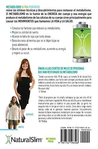 Metabolismo Ultra Poderoso: Amazon.es: Frank Suárez, Xiomara Acobes-Lozada, Jocelyn Ramos: Libros
