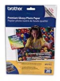 Office Products : Brother 8 1/2 x 11 Inch High Gloss Inkjet Paper 20 sheets (BP61GLL) - Retail Packaging
