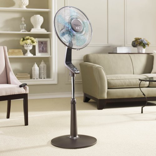 Rowenta Fan Oscillating Fan With Remote Control Standing