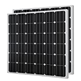 HQST 150 Watt 12 Volt Monocrystalline Solar Panel (2 Pieces)