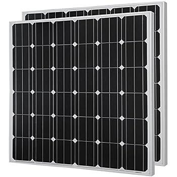 Amazon Com Hqst 150 Watt 12 Volt Monocrystalline Solar