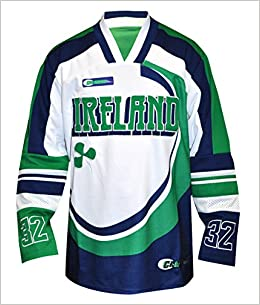 5ff7e67b6 Amazon.com  Croker Irish Shamrock Hockey Jersey - S (0819307015965)  Books