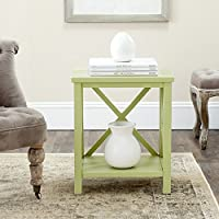 Safavieh American Homes Collection Candence Split Pea End Table