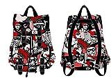 Harley Quinn DC Comics All Over Print Knapsack Backpack Bookbag New
