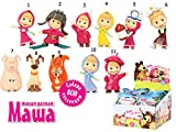11 psc Masha and the Bear Mini figures toys party favor birthday cupcake toppers cartoon series to children's holiday miniature, surprise baby, party favor Figurine birthday