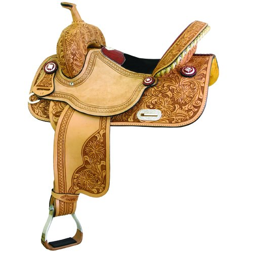 All American Saddles CONNIE COMBS GATOR HALF-BREED Saddle