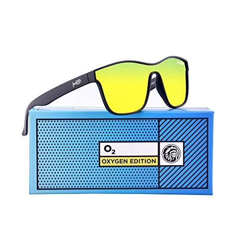 Oxygen INDIAN Sol 142 Black Edition Unisex FACE de THE Gafas E1ndq1