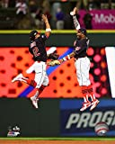 "Francisco Lindor Rajai Davis Cleveland Indians 2016 ALDS Action Photo (Size: 8"" x 10"")"