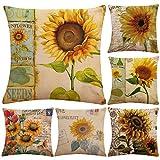 Cotton Linen Throw Pillow Case Cushion Cover Home Sofa Decorative...