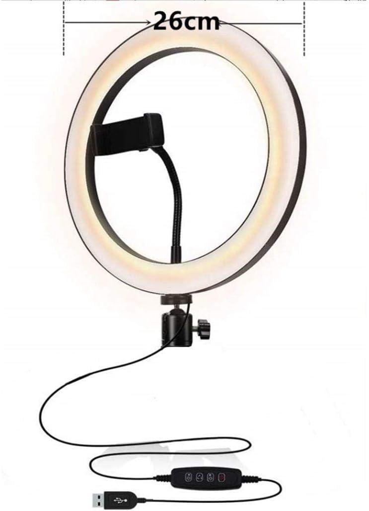 mandii Practical USB Interface Brightness Adjustable Fill Light Beauty Lamp On-Camera Video Lights