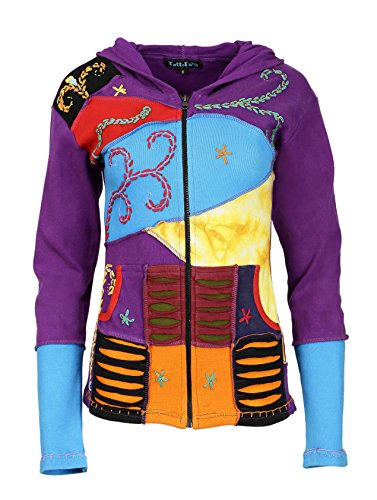 lat Mesdames Cardigans des poches multicolores avec FxwRqx0v