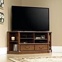 Sauder Orchard Hills Corner TV Stand in Milled Cherry