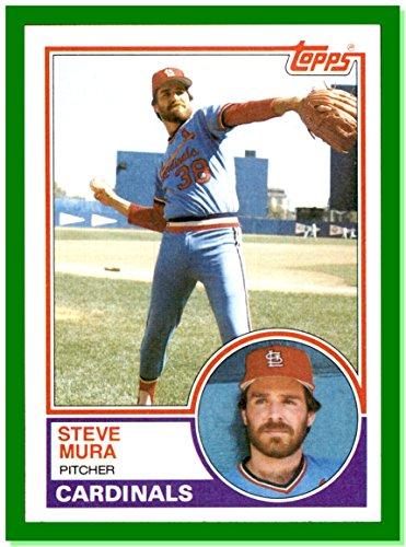 1983 Topps #24 Steve Mura ST. LOUIS CARDINALS (1983 St Louis Cardinals)