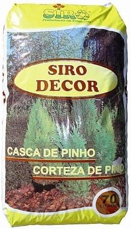 Siro - Corteza de pino 8/15 70l siro: Amazon.es: Jardín