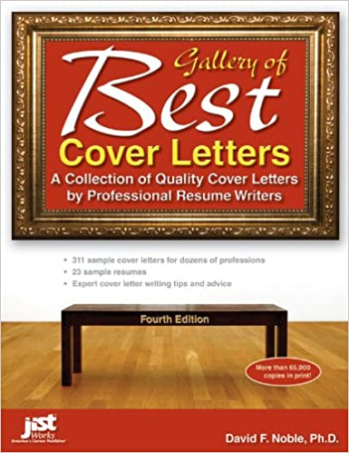 gallery of best cover letters 4th ed david f noble 9781593579173 amazoncom books