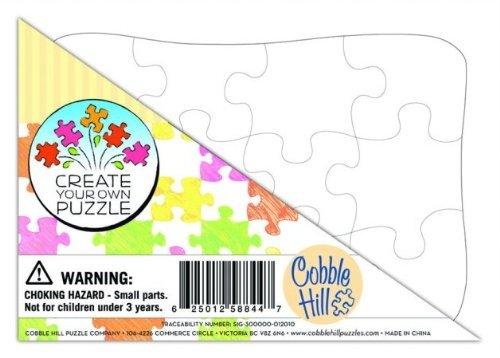 amazon com cobble hill create your own puzzle postcard size 12