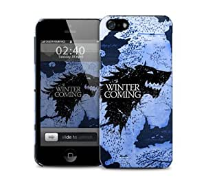 winter is coming game of thrones map winterfall iPhone 5 / 5S protective case
