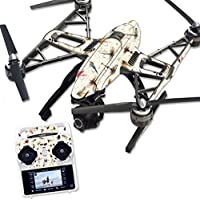 Skin For Yuneec Q500 & Q500+ Drone – Fishing Flies | MightySkins Protective, Durable, and Unique Vinyl Decal wrap cover | Easy To Apply, Remove, and Change Styles | Made in the USA