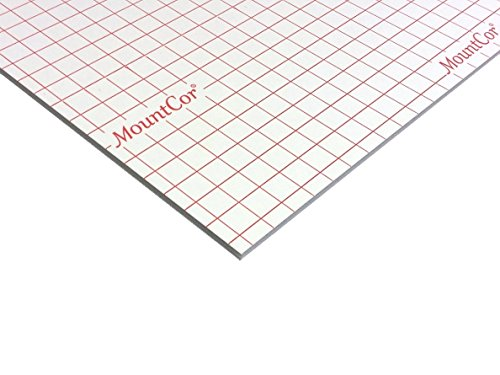 MountCor Heat Adhesive Foam Board - White - 32''x40'' (25) by Gilman Brothers
