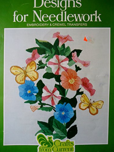 Crewel Transfer - Designs for Needlework: Embroidery & Crewel Transfers