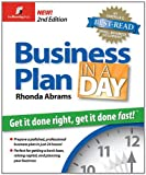 Business Plan in a Day, Rhonda Abrams, 1933895071