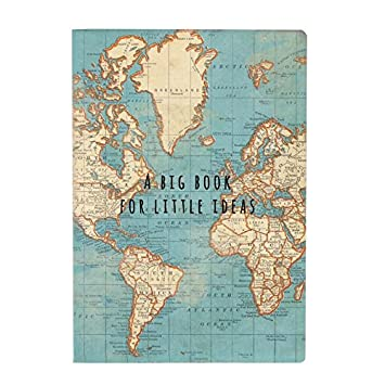 Sass belle book vintage world map cr145 amazon toys games sass belle book vintage world map cr145 gumiabroncs Image collections