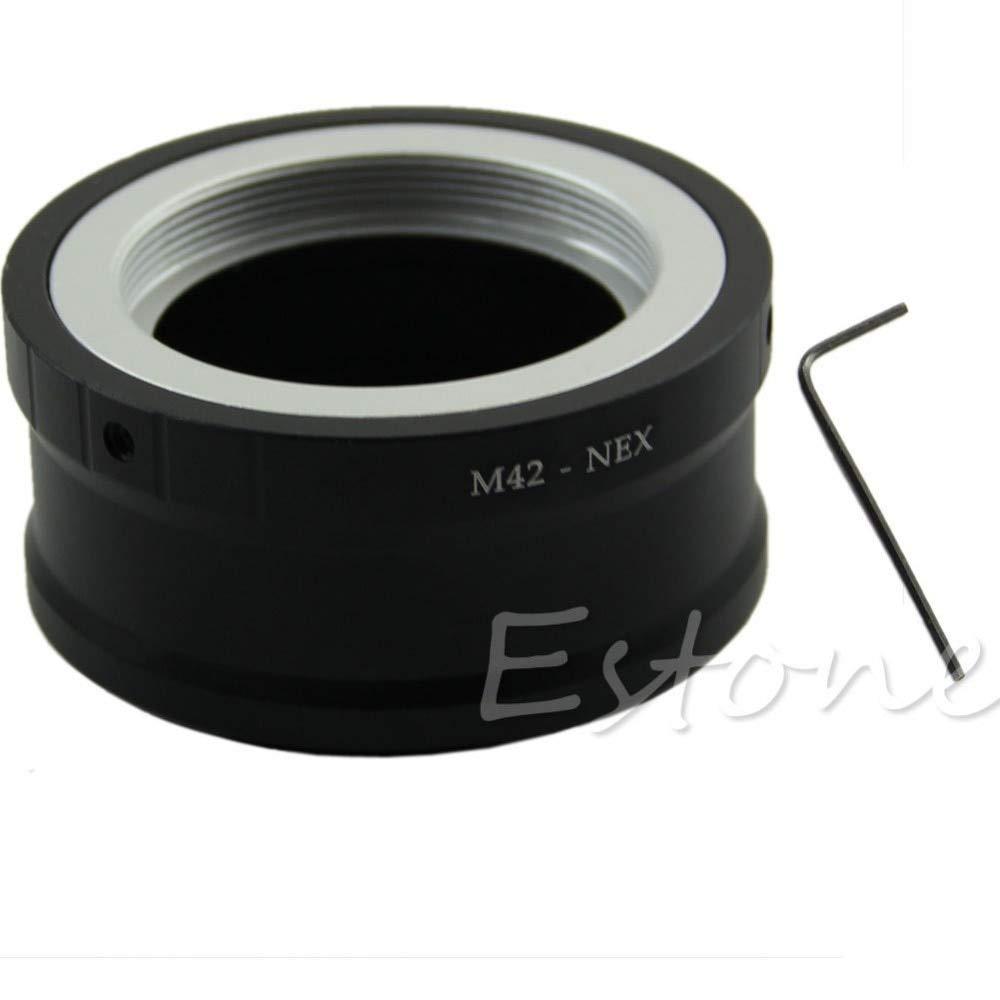 SAUJNN Replacement Lens M42 Screw Lens Mount Adapter to for Sony NEX E NEX-5 NEX-3 Camera