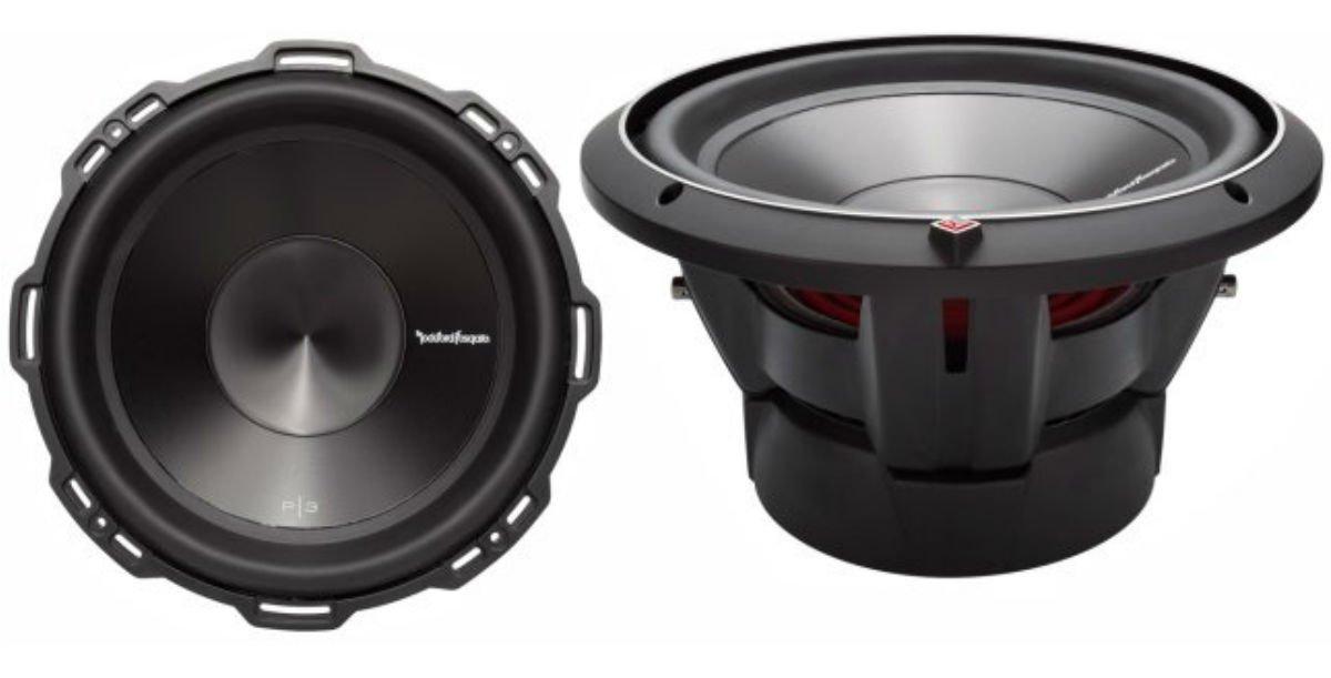 2) ROCKFORD FOSGATE P3D4-10 10'' 2000W Car Audio Subwoofers Sub Woofer P3D410