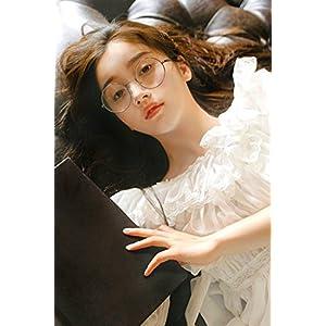 Generic Round_ retro glasses_box_no_degrees_eyes_round_box_on Korean_style_of mirror_ glasses_frame_male_tide