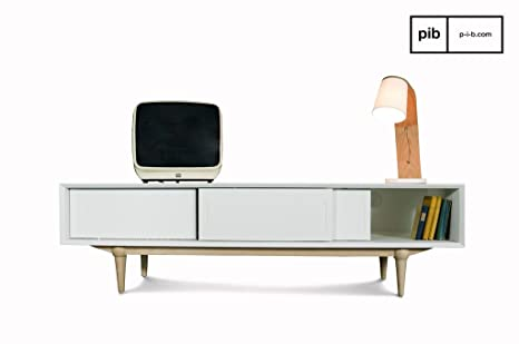 Mobili Tv Design Scandinavo.Mobile Tv Fjord In Stile Nordico Amazon It Elettronica