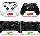 eXtremeRate® Red Shadow Soft Touch Front Housing Shell Faceplate Replacement Parts Side Rails Panel for Xbox One Controller W/3.5 mm