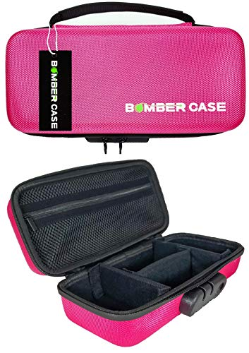 (BOMBER CASE - Stash Case - Locking - Smell Proof - Customizable Padded Interior - Holds up to 9.5