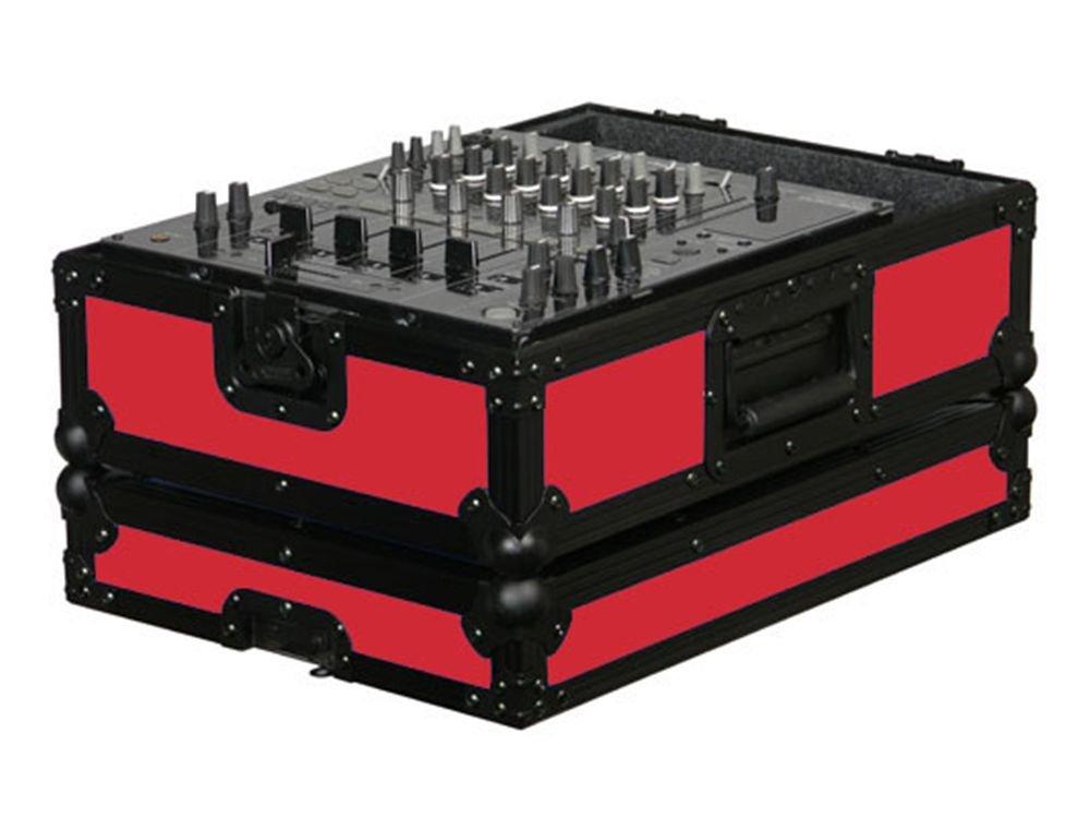 Odyssey FR12MIXBKRED Designer 12In Mixer Case-Re Single DJ Mixer Case 4334204215